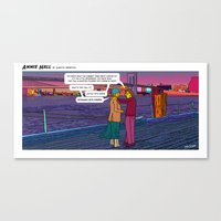 annie hall Canvas Prints featuring Stealing Scenes - Annie Hall by Follow the Lights