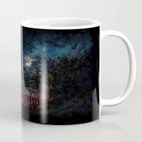 castlevania Mugs featuring Castlevania: Vampire Variations- Gates by LightningArts