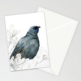 Kōkako, New Zealand native bird Stationery Cards