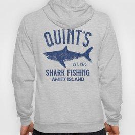 Quint's Shark Fishing - Amity Island Hoody