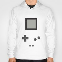 gameboy Hoodies featuring Gameboy by M. C.Tees