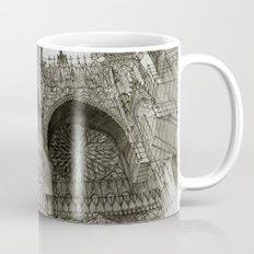 Rouen facade Mug
