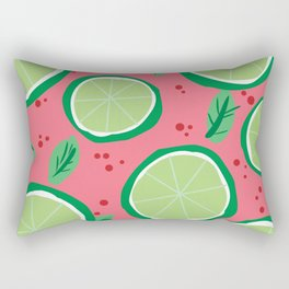 Lime Pop Rectangular Pillow