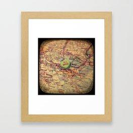 All Mine New Orleans Framed Art Print