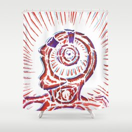 The New Flesh 2 Shower Curtain