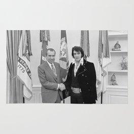 Elvis Meets Nixon Rug
