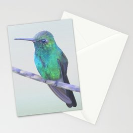 Cuban Emerald Hummingbird Stationery Cards