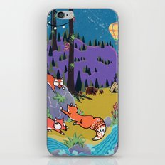 Foxy Forest iPhone & iPod Skin