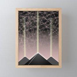 The All Seeing Eye Framed Mini Art Print