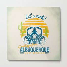 Greetings from Albuquerque Metal Print