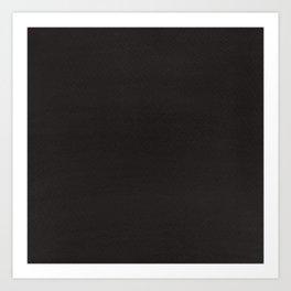 Hand painted DW-M black color Art Print
