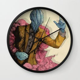 Infected 2016 Wall Clock
