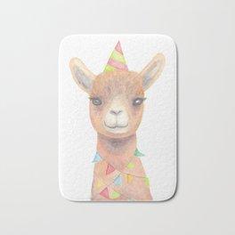 Birthday Llama Bath Mat