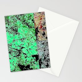Grunge paint stains texture Stationery Cards
