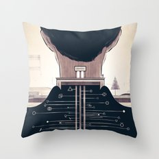 The Space Creator Throw Pillow