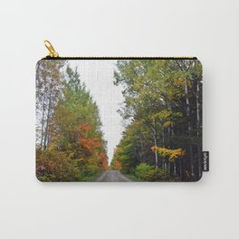 Forest Road in the Fall Carry-All Pouch