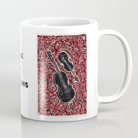 saxophone Mugs featuring Saxophone by Matt Larsen