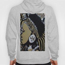 Zulu girl with zebra print 3 Hoody