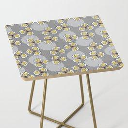 MAYA - Grey & Yellow Side Table