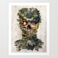 The Gatekeeper Surreal Dark Fantasy Art Print