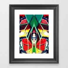 In the Mirror Framed Art Print