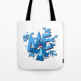 All About Devilbear Tote Bag
