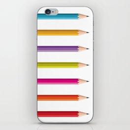 Pencils iPhone Skin