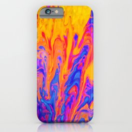 Over Active Brain Activity Fluid Abstract 60 iPhone Case