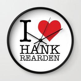 I Heart Hank Rearden Wall Clock