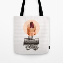 Traveling with loneliness Tote Bag