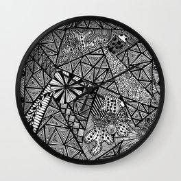Germ Control Wall Clock