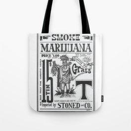 SMOKE MARIJUANA Tote Bag