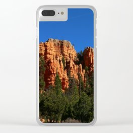 Dixie Forest Hoodoos Clear iPhone Case