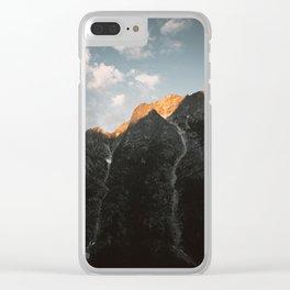 Last Light Clear iPhone Case