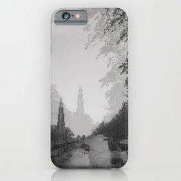 Double Vision: Amsterdam iPhone Case