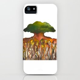 Deep Roots of Mama Tree iPhone Case