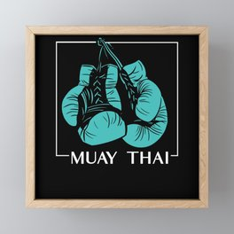 The Fight Is Your Life Framed Mini Art Print