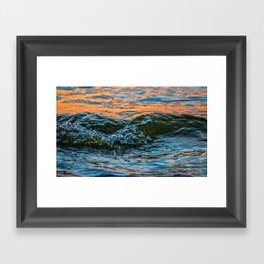Sea Meets Sky II Framed Art Print