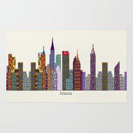 Atlanta city  Rug