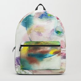 ELEANOR ROOSEVELT - watercolor portrait Backpack