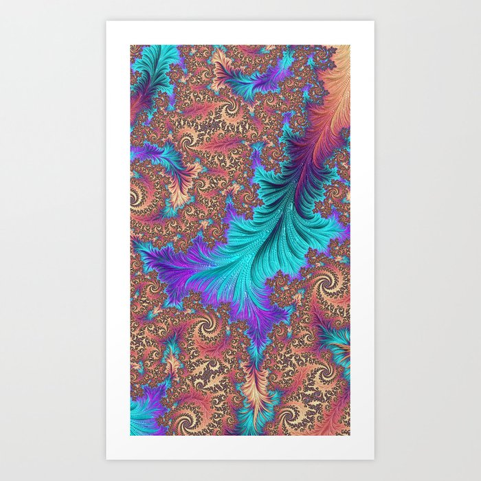 Persian Art Print