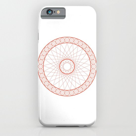 Anime Magic Circle 13 iPhone & iPod Case