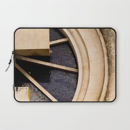 Cross from the entrance portal to the Saldungaray cemetery Laptop Sleeve