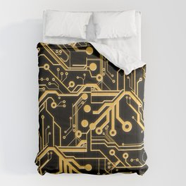 Techno Organic  Comforters