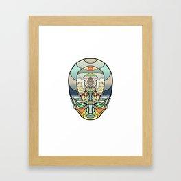 Scotts Shirt :) Framed Art Print