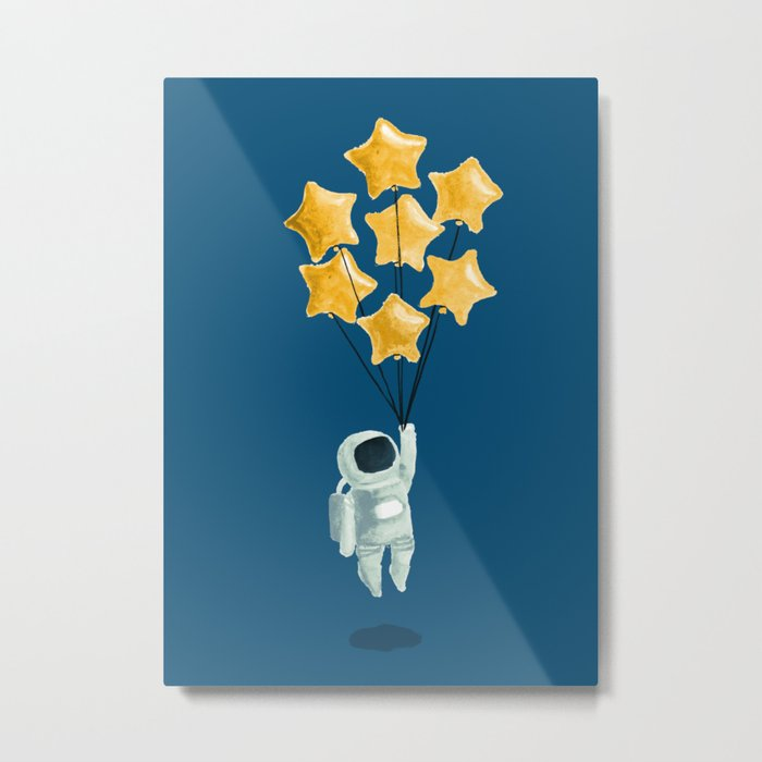 Astronaut's dream Metal Print