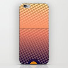 Something in the line iPhone & iPod Skin