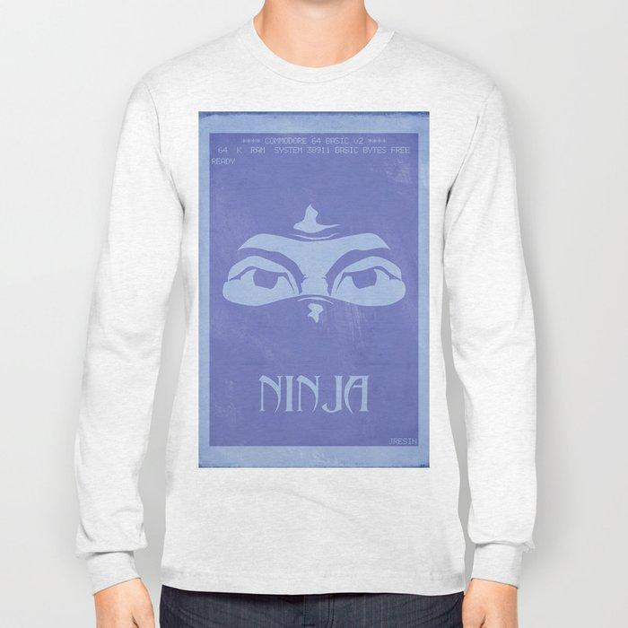 Retrogameing - Last Ninja Long Sleeve T-shirt