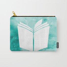 Watercolour Book (Green) Carry-All Pouch