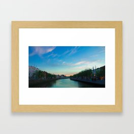 the leffy Framed Art Print